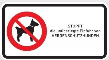 Stoppt die unüberlegte Einfuhr von Herdenschutzhunden